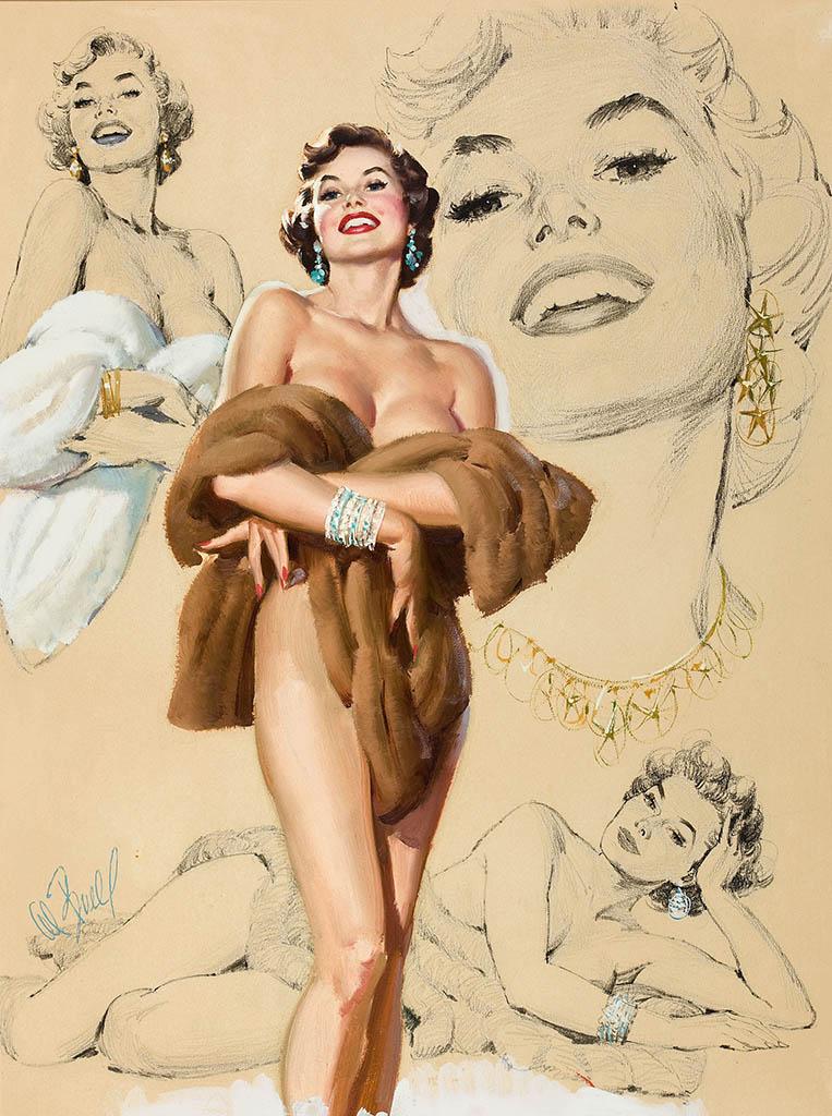 Плакат Обнаженной Груди Женщины