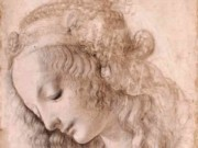 Леонардо да Винчи. Голова девушки 1475-80