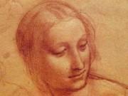 Леонардо да Винчи. Голова женщины