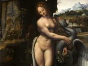 Леонардо да Винчи. Леда и Лебедь (Франческо Мельци) 1515