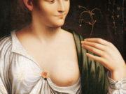 Leonardo da Vinci. Леонардо да Винчи. Коломбина