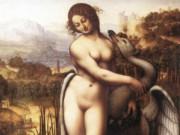 Leonardo da Vinci.Леонардо да Винчи Леда и Лебедь (копия утраченной работы)