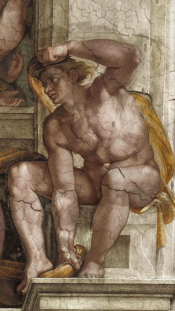 """Микеланджело Буонарроти (Michelangelo Buonarroti), """"Иньюди - 11"""""""