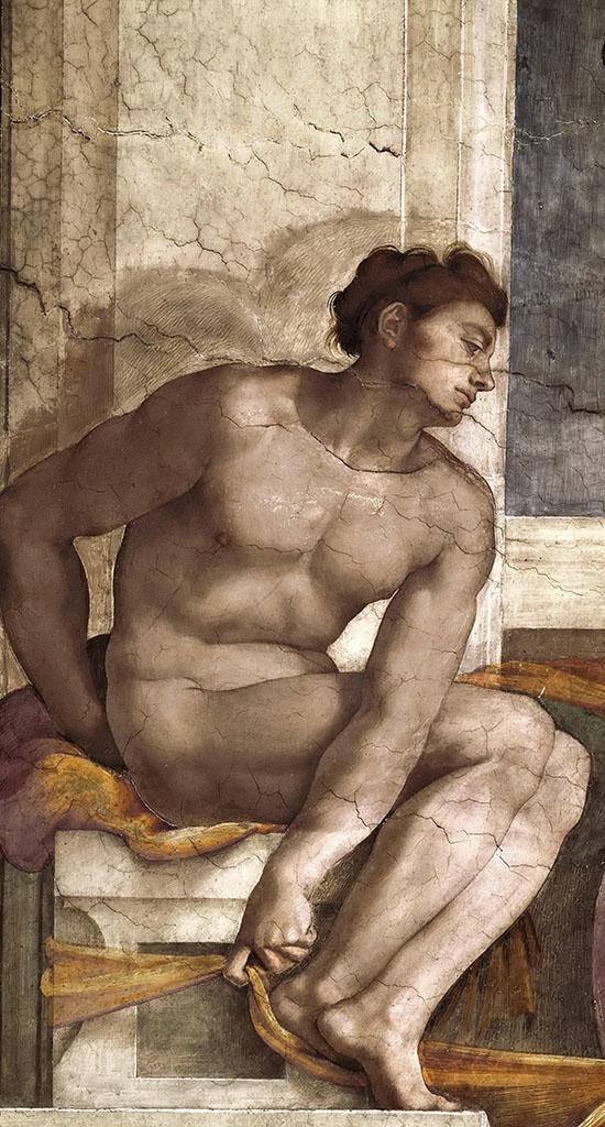 """Микеланджело Буонарроти (Michelangelo Buonarroti), """"Иньюди - 13"""""""