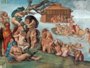 "Микеланджело Буонарроти (Michelangelo Buonarroti), ""Всемирный потоп"""
