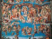 "Микеланджело Буонарроти (Michelangelo Buonarroti), ""Страшный суд"""