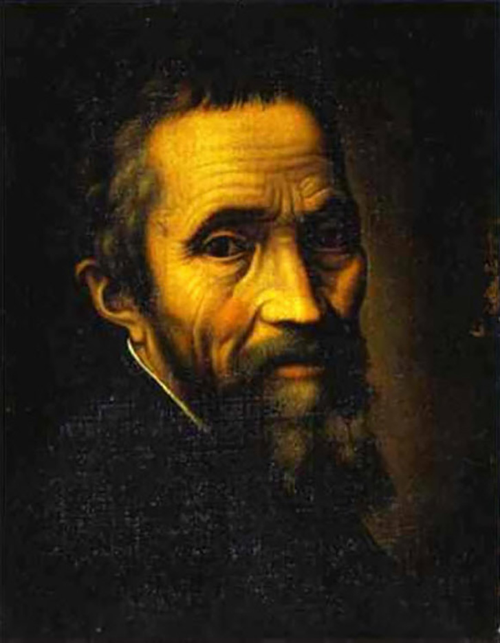 "Микеланджело Буонарроти (Michelangelo Buonarroti), ""Портрет"""