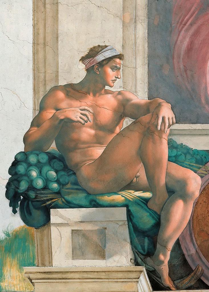 """Микеланджело Буонарроти (Michelangelo Buonarroti), """"Иньюди - 2"""""""