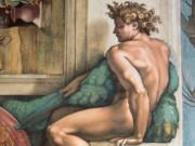 """Микеланджело Буонарроти (Michelangelo Buonarroti), """"Иньюди - 6"""""""