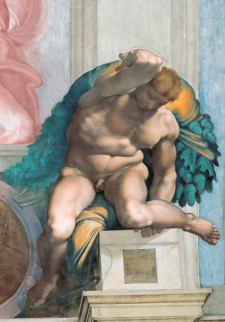 """Микеланджело Буонарроти (Michelangelo Buonarroti), """"Иньюди - 7"""""""