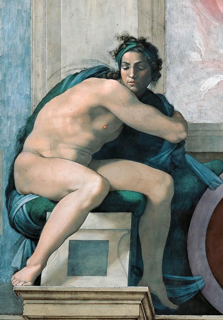 """Микеланджело Буонарроти (Michelangelo Buonarroti), """"Иньюди - 8"""""""