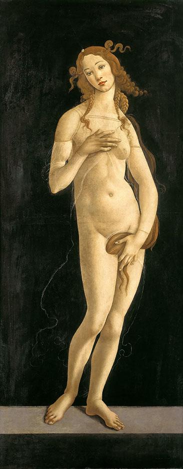Сандро Боттичелли. Венера Стыдливая 1492