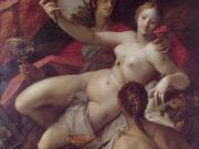 "Ханс фон Аахен (Hans von Aachen) ""Allegory of Peace, Art and Abundance | Alegoria de la Paz"""