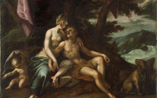 """Ханс фон Аахен (Hans von Aachen) """"Venus and Adonis"""""""