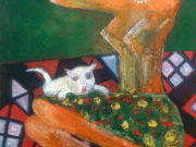 "Закир Ахмедов (Zakir Ahmedov) ""Девушка и кошка | Girl and cat"""