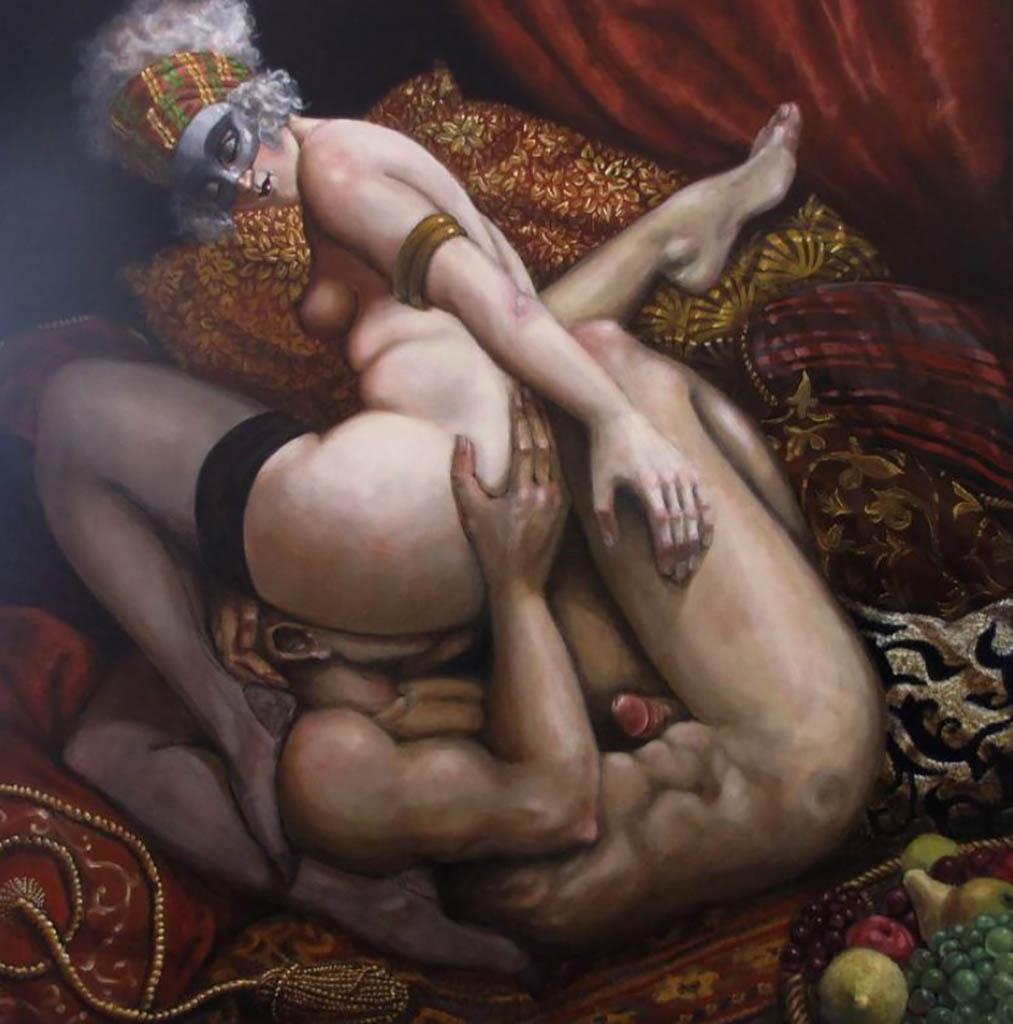 "Андреа Альчато (Andrea Alciato) ""The Earthly Paradise"""