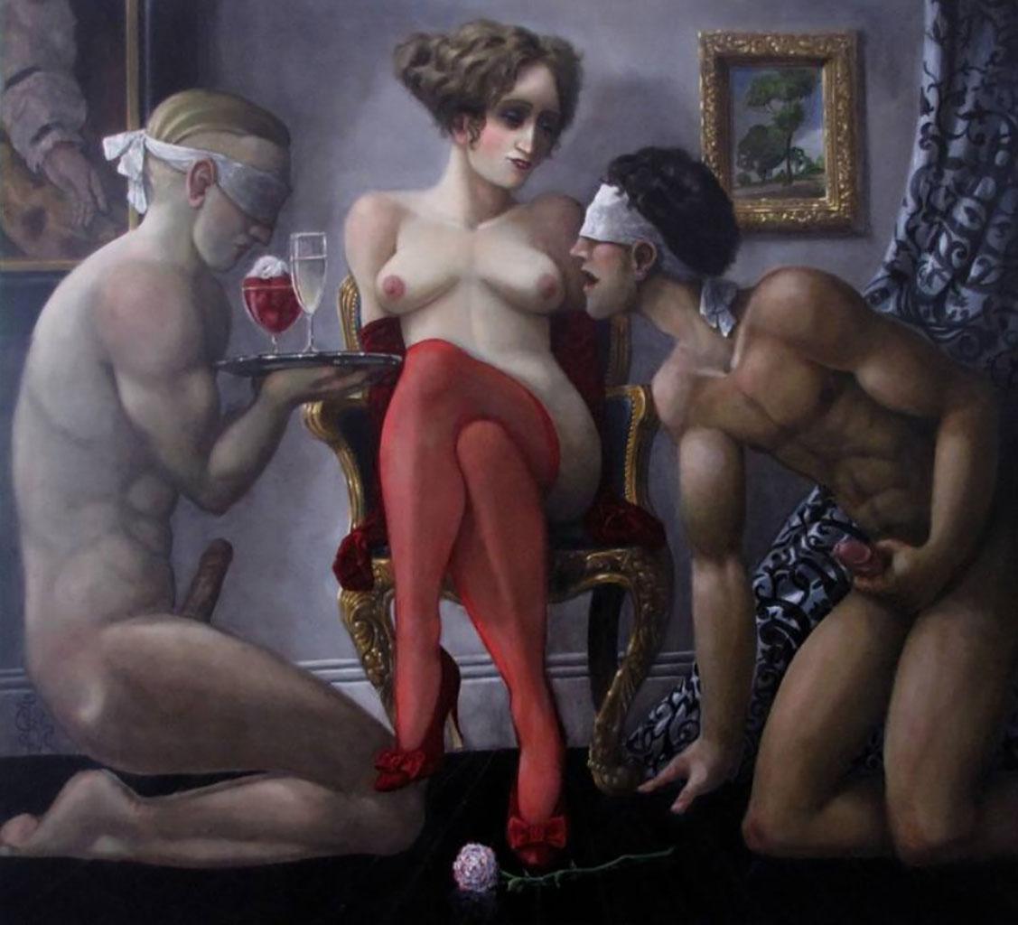 "Андреа Альчато (Andrea Alciato) ""Tribute: Incident in the Long gallery"""