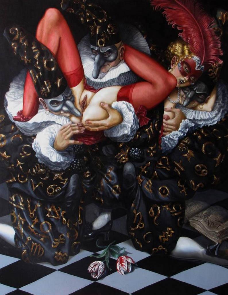 "Андреа Альчато (Andrea Alciato) ""The Alchemists II. The Scarlet Woman Abducted"""