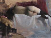 "Ник Альм (Nick Alm) ""Reclining Nude"""