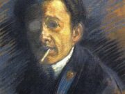 "Юрий Анненков (Yuri Annenkov) ""Self-portrait"""