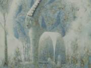 """Виктор Ануфриев (Victor Anufriev), """"В саду"""""""