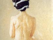 "Авигдор Ариха (Avigdor Arikha) ""Спина женщины | Back of a woman"""