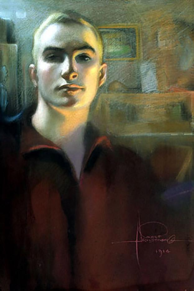 "Рольф Армстронг (Rolf Armstrong) ""Self portrait"""