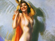 "Рольф Армстронг (Rolf Armstrong) ""Let's Be Friends"""