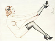 """Рольф Армстронг (Rolf Armstrong) """"Original Pin up Illustration"""""""