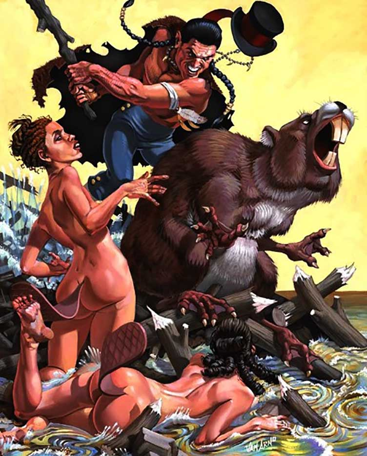 "Ван Арно (Van Arno) ""Oconomowoc, hero of Beaver Dam, WI"""