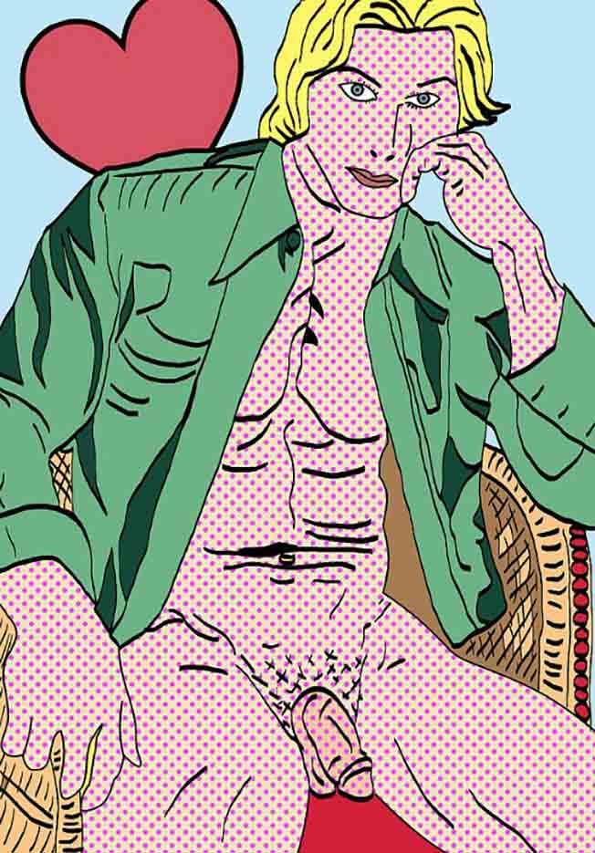 """Марк Ашкенази (Mark Ashkenazi) """"Comix Guy"""""""