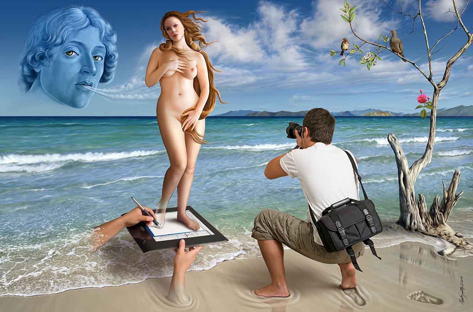 "Махир Атес (Mahir Ates) ""The Rebirth of Venus - 2"""
