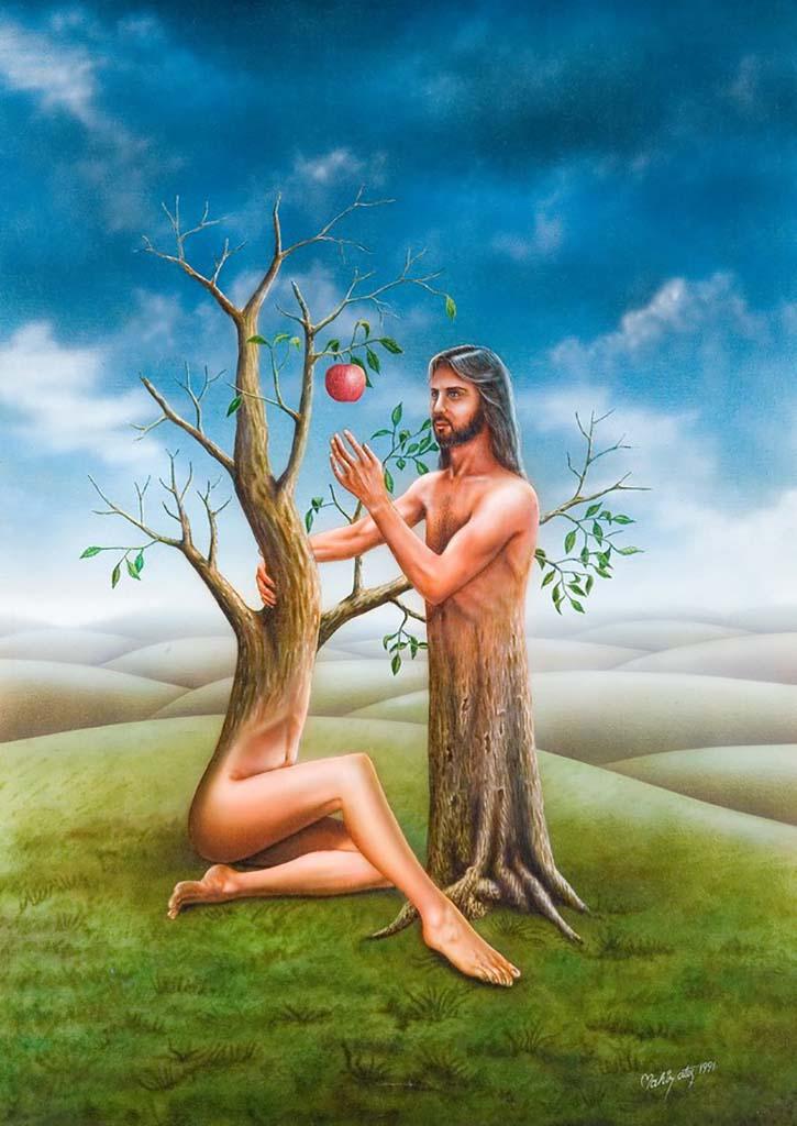 """Махир Атес (Mahir Ates) """"Adam and Eve"""""""