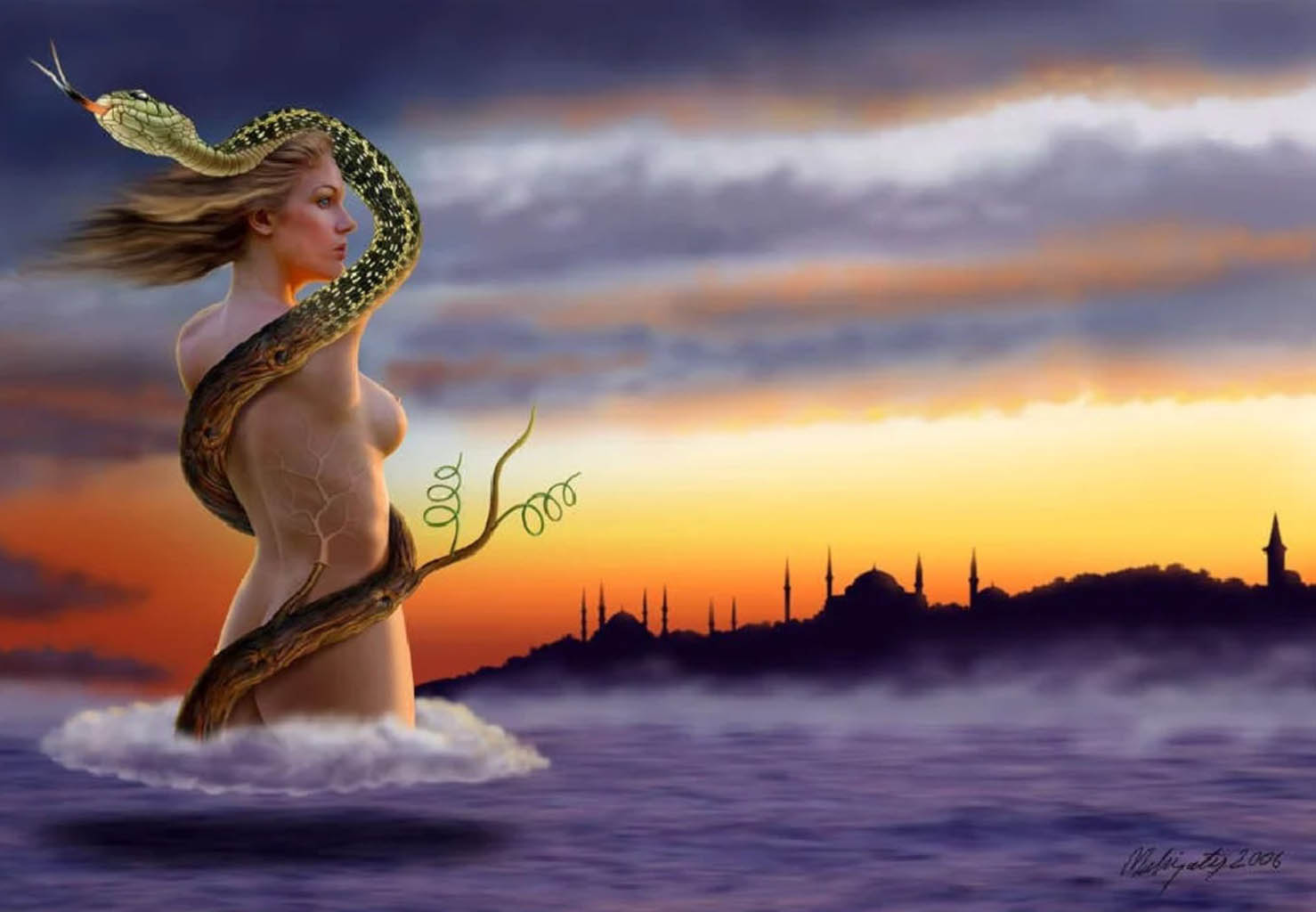 "Махир Атес (Mahir Ates) ""Maiden's Tower Istanbul"""