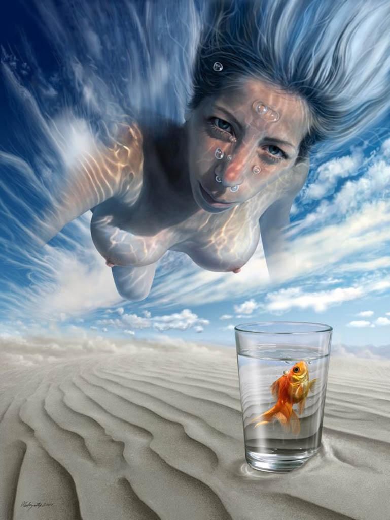 "Махир Атес (Mahir Ates) ""Swim in the Sky"""