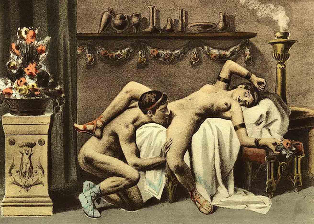 """Эдуар Анри Авриль (Edouard-Henri Avril) """"De Figuris Veneris - 12"""""""