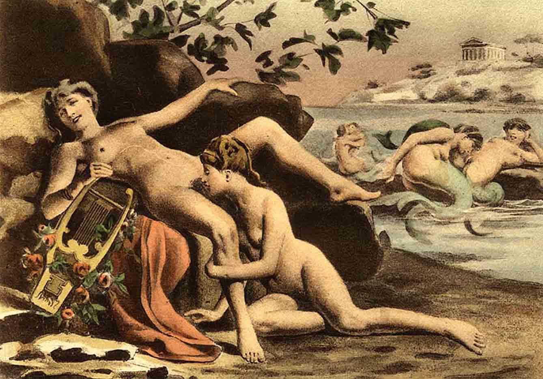 """Эдуар Анри Авриль (Edouard-Henri Avril) """"De Figuris Veneris - 13"""""""