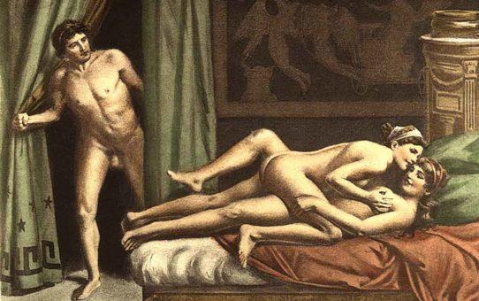 """Эдуар Анри Авриль (Edouard-Henri Avril) """"De Figuris Veneris - 15"""""""