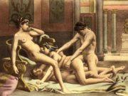 """Эдуар Анри Авриль (Edouard-Henri Avril) """"De Figuris Veneris - 19"""""""