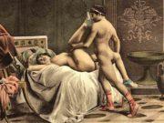 """Эдуар Анри Авриль (Edouard-Henri Avril) """"De Figuris Veneris - 1"""""""