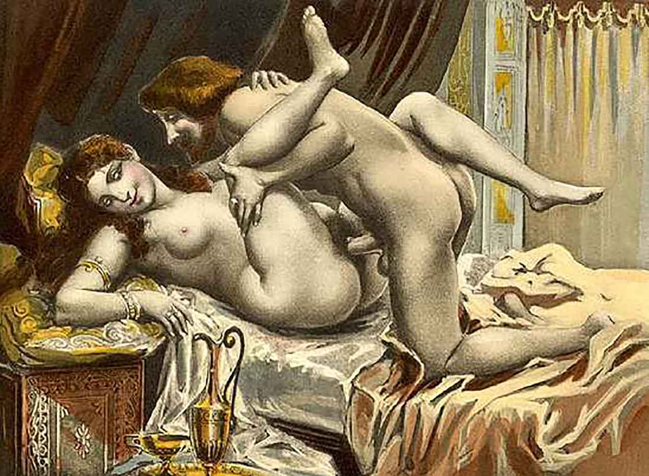 "Эдуар Анри Авриль (Edouard-Henri Avril) ""Les Sonnetts Luxurieux - 3"""