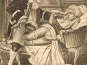"Эдуар Анри Авриль (Edouard-Henri Avril) ""Fanny Hill Illustration II"""