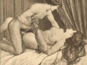 "Эдуар Анри Авриль (Edouard-Henri Avril) ""Fanny Hill Illustration III"""
