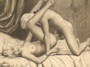 "Эдуар Анри Авриль (Edouard-Henri Avril) ""Fanny Hill Illustration IV"""