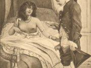 "Эдуар Анри Авриль (Edouard-Henri Avril) ""Fanny Hill Illustration V"""