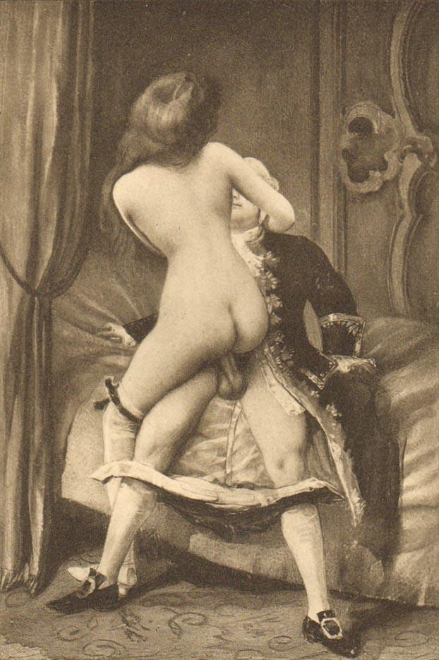 "Эдуар Анри Авриль (Edouard-Henri Avril) ""Fanny Hill Illustration VII"""