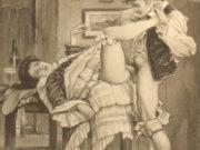 "Эдуар Анри Авриль (Edouard-Henri Avril) ""Fanny Hill Illustration IX"""