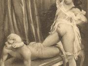 "Эдуар Анри Авриль (Edouard-Henri Avril) ""Fanny Hill Illustration X"""