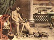 """Эдуар Анри Авриль (Edouard-Henri Avril) """"De Figuris Veneris - 9"""""""