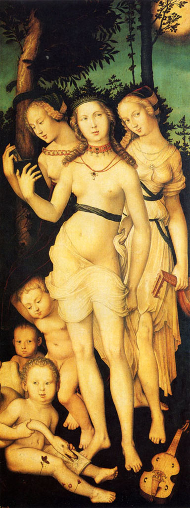 "Ханс Бальдунг (Hans Baldung) ""Гармония Трех Граций 
